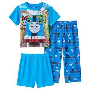 3-Pc Thomas Engine Pajama Set 2T